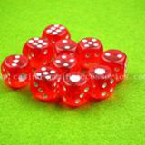Guangzhou Custom Size Red Dice / Crap Dice / Entertainment Dice