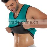 HOT SHAPERS neotex Both sides of the zipper abdomen fat burning vest body sculpting clothing