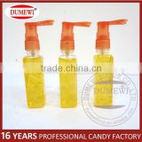 New Item Orange Flavor Colorful Syrup Spray Liquid Candy