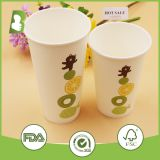 Single wall/Custom logo printed paper disposable cups
