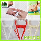 Cheapest wholesales Measure Personal Body Fat Tester Calipers with Manual & Body Fat Charts Fitness