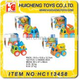Lovely cute inertia car series safety PP material small friction truck toy EN71, 7P