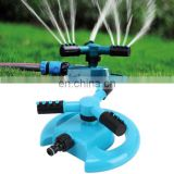 High quality ABS plastic Garden Automatic Rotating Nozzle 360 Degree Rotary Automatic Sprinkler Garden Lawn Watering Nozzle