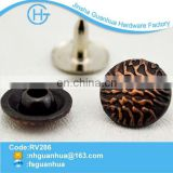 Decorative fashion buttons rivet stud for pants