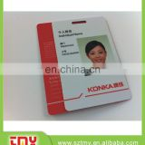 alibaba verified factory plastic id card printing with card holder