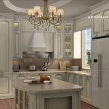 YALIG Solid Wood Kitchen Cabinet