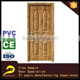 modern PVC interior wooden single main door design