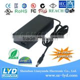 12V 24V 36V 48V 60V 72V Li-ion Battery Charger for electric bike with CE RoHS FCC Approved