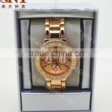 Newest wholesale price quartz watch various color available