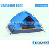 Outdoor Hiking Camping Tent for 3/4 Person
