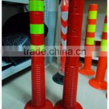 Best price traffic warning flexible PU bollard delineator post                                                                         Quality Choice