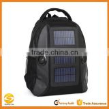 Deluxe Tactical military solar backpack, hiking solar backpack bag