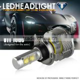 2014 Best Heat cooling Brighter than car hid headlights replacement 9004 9007 H13 60W Hi/Low beam led headlights bulb h4