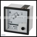 Analogic electrical meter DC ammeter