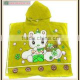 Breathable Hooded Towels For Babies With Nice Embroidery Style