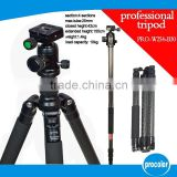 Professional Aluminum Video Tripod,video camera professional tripod light stand
