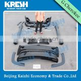 Untility high quality Summit body kit with front bumper and rear bumper for Grand cherokee with TEO material and black color