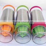 stainless steel fruit Juicer lemon water bottle FACTORY DIRECTLY