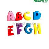 Magnetic letters, plastic magnetic letters for kids, uppercase, magnetic letter toys