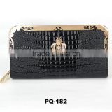 Promotion elegance Crown women wallet Hot sale ladies zippered hand pouch on alibaba aliexpress