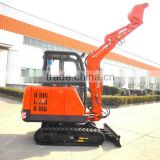 2.38ton crawler mini excavator JT25 model,450mm bucket,27hp diesel engine,Heater & fan in cabin