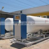 50m3 20 ton lpg gas filling station
