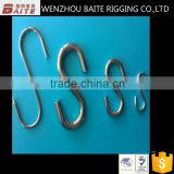 Zinc Plated Hot Sale Various Metal Small Tensile S Shaped Closing Hanger Hooks