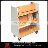 pictures of mobile small size storage rack kindergarten kids book shelf