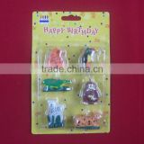 Animal shaped birthday candles