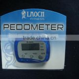 Electronice PEDOMETER with calorie counter, step counter time and distance walked functions