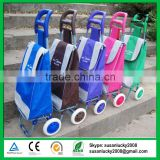 Carrier Shopping Cart Trolley Bag Stair Climbing Rolling Folding Grocery Laundry Grocery Laundry Utility(directly from factory)