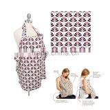various design print 100% cotton nursing cover