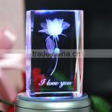 top grade 3d laser engraved crystal cube for souvenir gift                                                                         Quality Choice