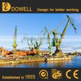 High efficiency 25 ton mobile harbour crane