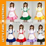 PGWC2589 Adult japanese sweet maid dress cosplay maid costume sexy lolita apron