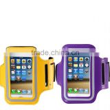 Wholesale Color rubber arm band Jogging Armband For Cell Phone high quality armband for iphone