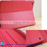 2013new Mini Bluetooth Keyboard with Pu Leather Case for mini ipad