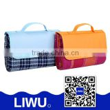 2015 new style good quatity folding picnic blanket outdoor plastic disposable waterproof mat pp