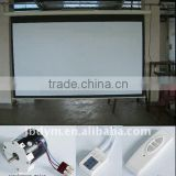 Home Theater Matte White 16:9 format Electric Motorized Projector Screen