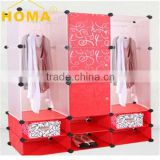 Semi Commercial DIY space saving wardrobe HMY3-5M