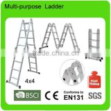 steel ladder design with EN131/wooden ladder shelf