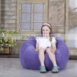 Children's High Quality Comfortable Teardrop Shaped Beanbag Sofa Chair