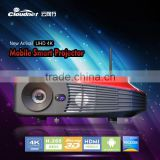 Cloudnetgo New holographic projector christmasr 3D blu ray projector wifi projector RK3288 4K led projector