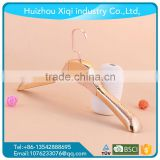 good shape and cheap price plastic Hangers for trousers plastic clothes hanger/suit hanger/plastic coat hanger
