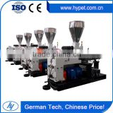 German Technology ZS65/132 PVC High Output Conical Twin/ Double Screw Plastic Extruder Machine