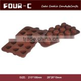 heart shaped ice bricks tray, silicone chocolate mold