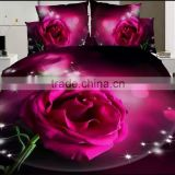 2015 home textiles bedding set 3D 100% cotton spring, autumn fashion sheet