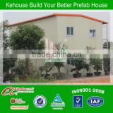 High quality prefab bungalow construction site exported to Malaysia with ISO9001 AS/CE certificate