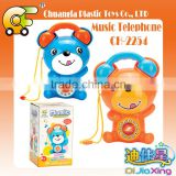 Cartoon musical telephone toys for baby