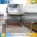 Home hydraulic lift elevator for disabled people electric elevator with no obstacle wheel chair lift